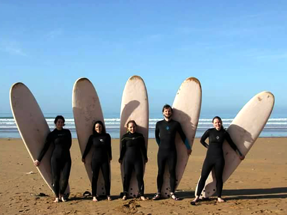 surf learner morroco