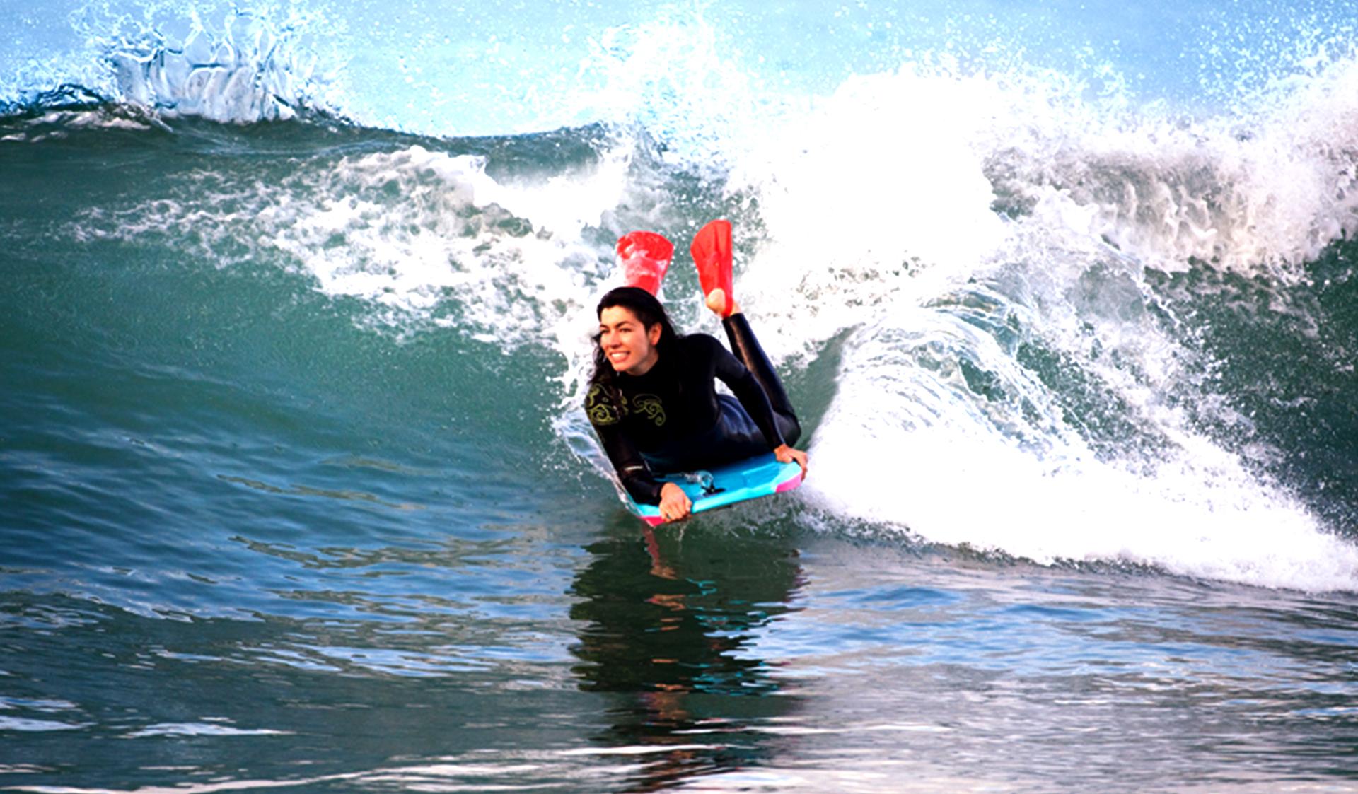 Bodyboard lessons morocco agadir