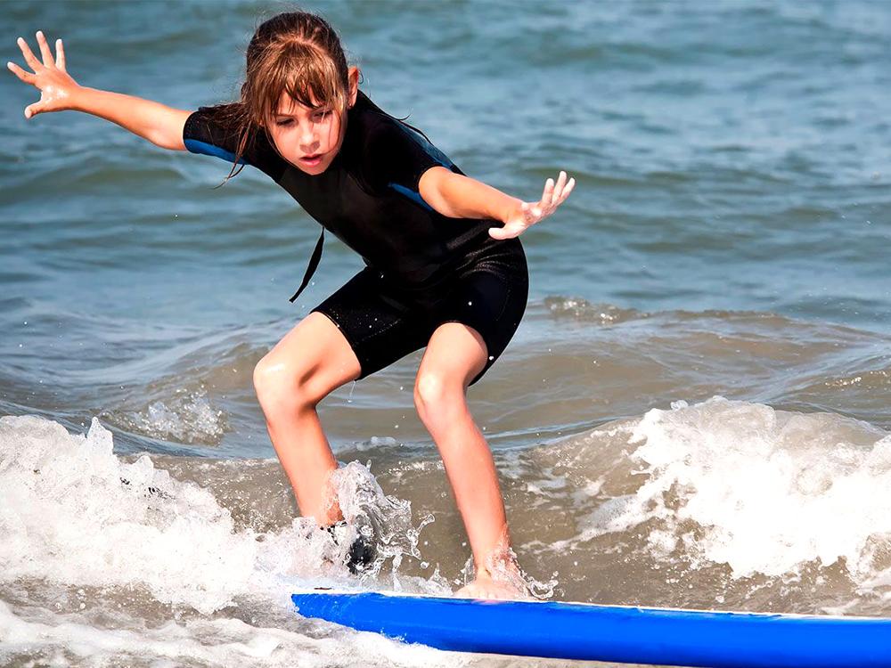 surf pour enfant