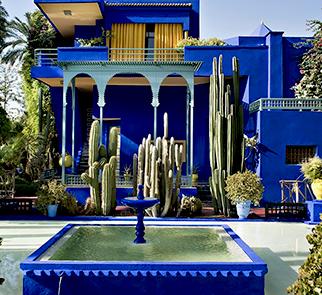 Blue garden marrakech