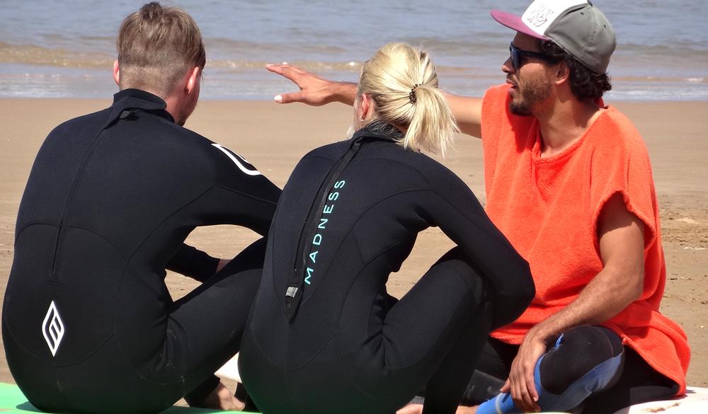 cours privé de surf agadir